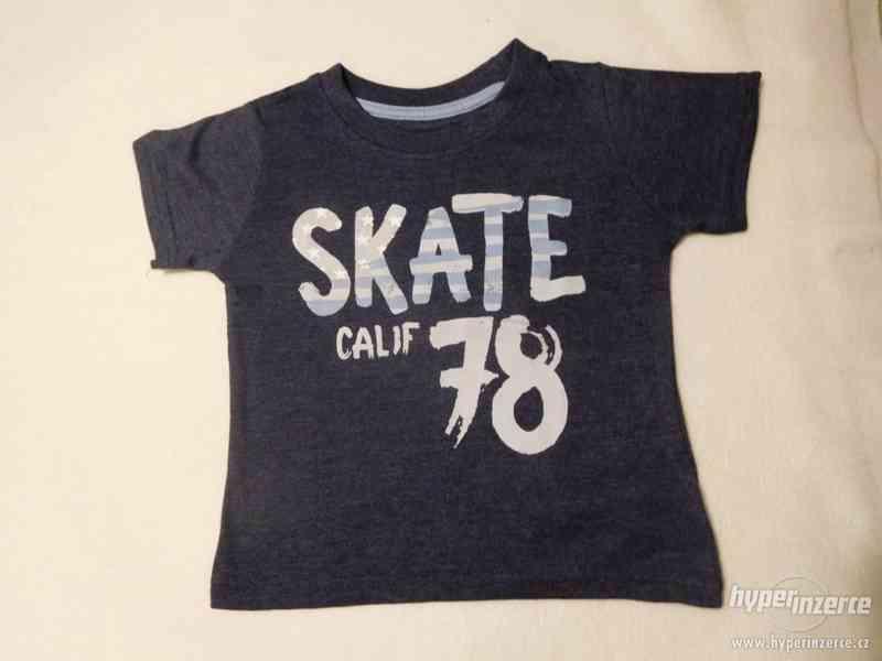Chlapecká letní trička 5 vzorů
