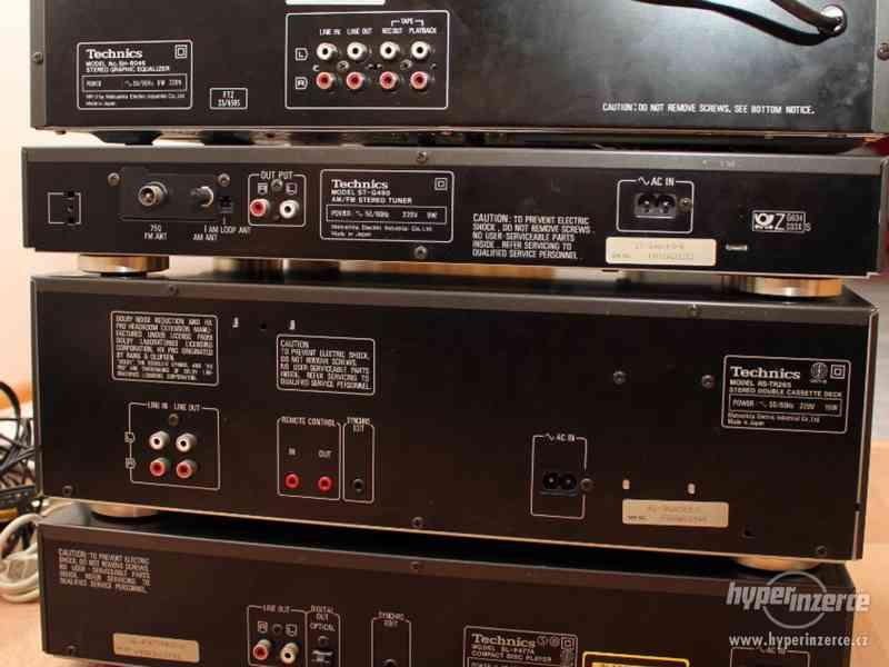 Historická Hi-Fi věž od firmy Technics - foto 6