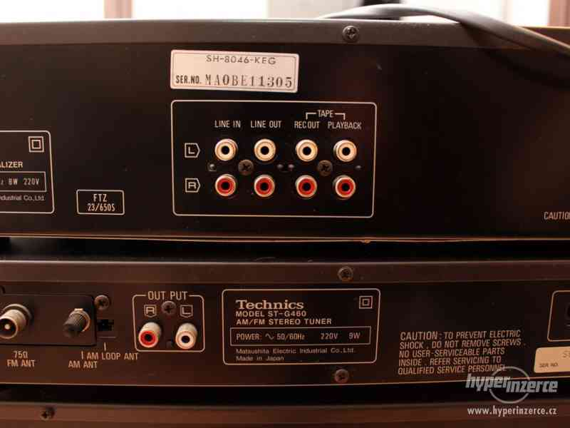 Historická Hi-Fi věž od firmy Technics - foto 7