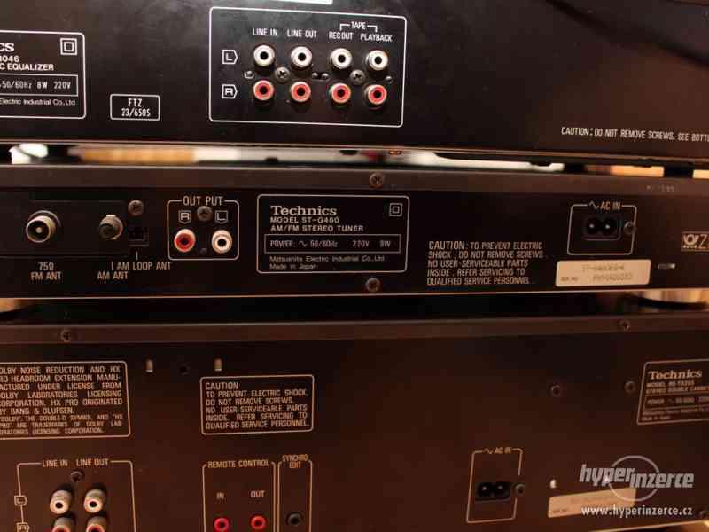 Historická Hi-Fi věž od firmy Technics - foto 8