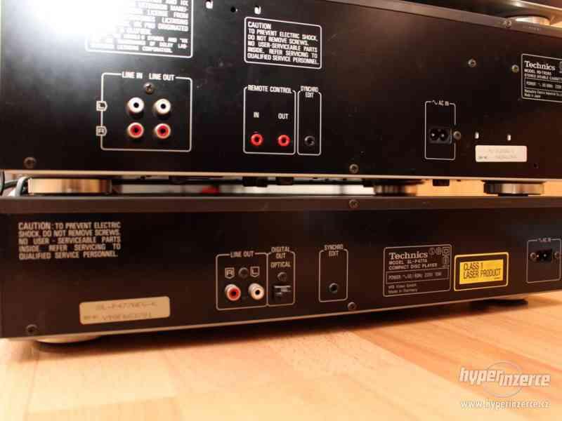 Historická Hi-Fi věž od firmy Technics - foto 9
