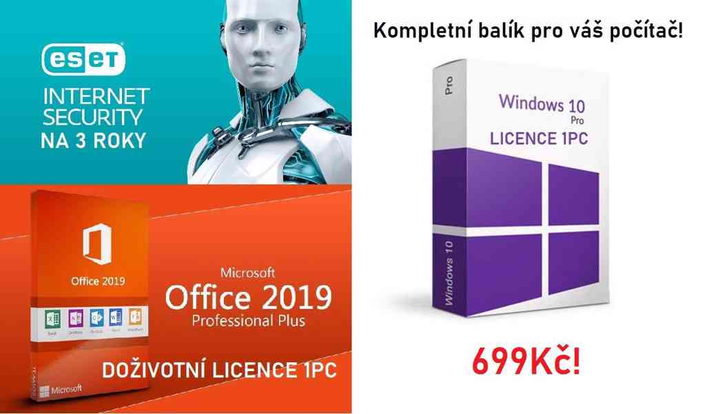 Windows 10 Pro + Office 2019 Pro Plus + ESET