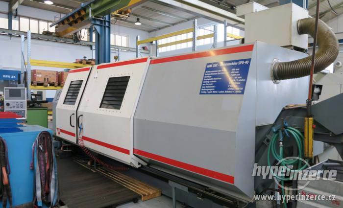Soustruhy - CNC  SPU 40