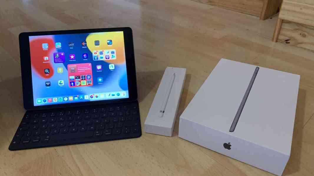iPad 2020 + Smart Keyboard + Apple pencil TOP stav