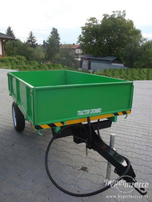 Přívěs CRONIMO TR1000 za traktor - foto 1