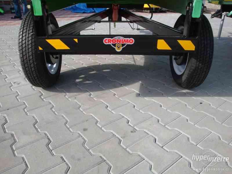 Přívěs CRONIMO TR1000 za traktor - foto 2