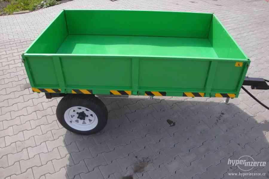 Přívěs CRONIMO TR1000 za traktor - foto 3