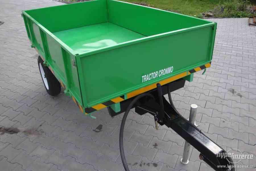 Přívěs CRONIMO TR1000 za traktor - foto 4
