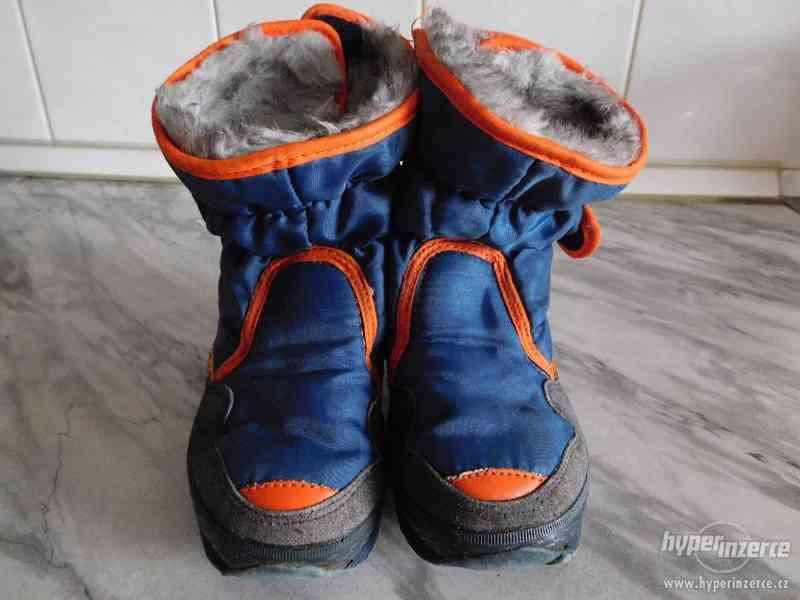 zimní chlapecké boty