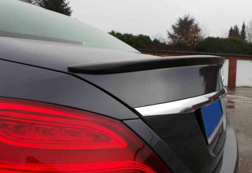 spoiler tuning kridlo Mercedes c W205 amg c-class - foto 6