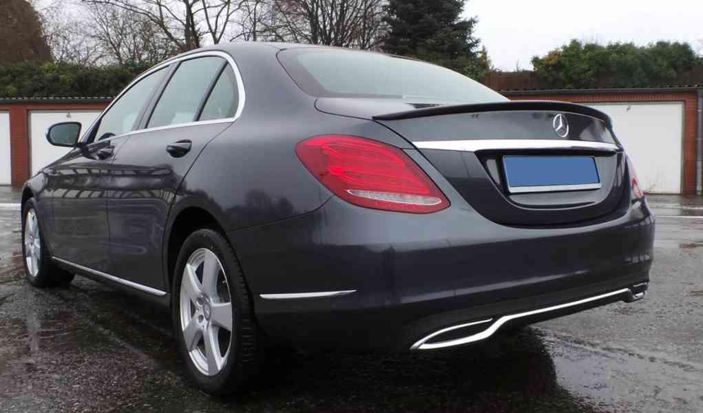 spoiler tuning kridlo Mercedes c W205 amg c-class - foto 1