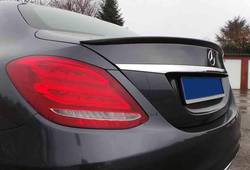 spoiler tuning kridlo Mercedes c W205 amg c-class - foto 5