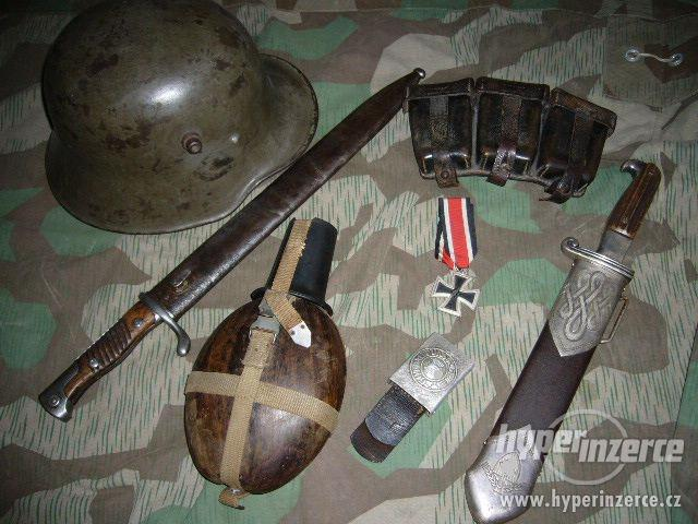 Sběratel velmi solidně zaplatí za staré militarie - foto 1