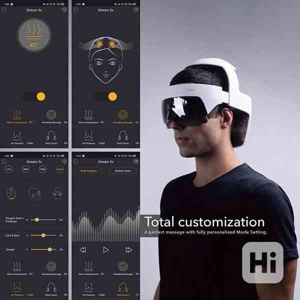 Breo iDream5 - Luxusní masážní přístroj hlavy a krku!