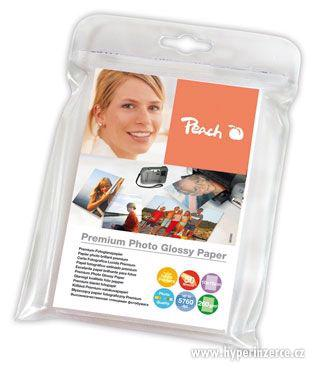 Lesklý fotopapír Peach Premium, 260 g/m2 - 10x15/50