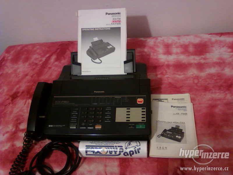 Kopírka Panasonic-sdružený přístroj