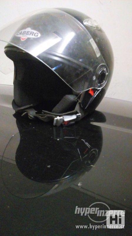 Motorkářská přilba CABERG,vel.S-M,nepoužívaná,perfekt.stav - foto 1