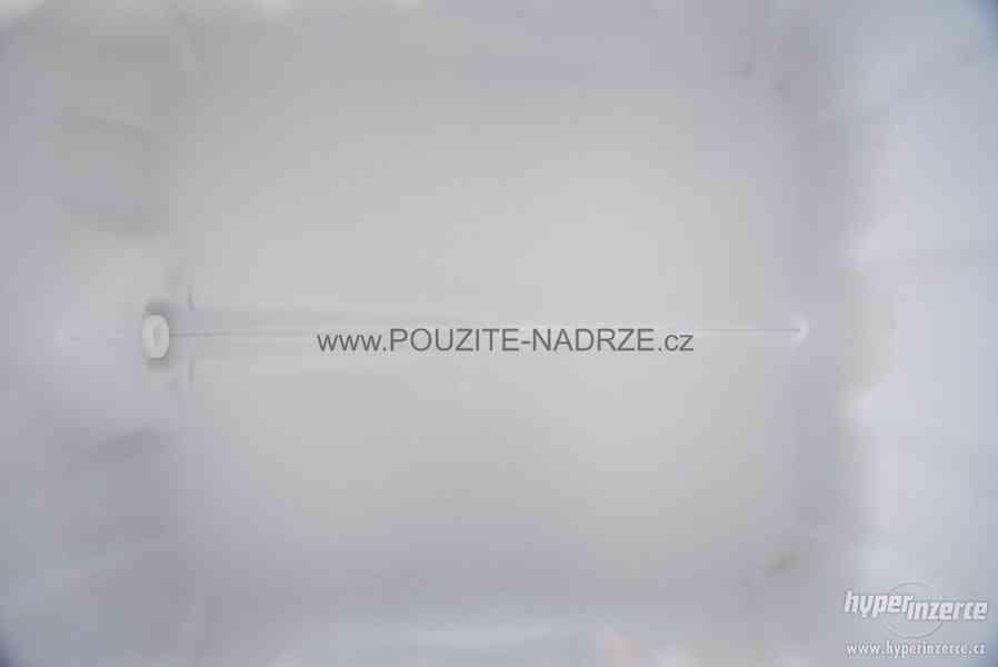 NOVÁ IBC nádrž 1000L / 15cm, pozinkovaná / plastová paleta - foto 5