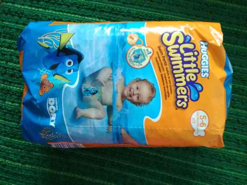 koupací plenky Huggies little swimmers - foto 1