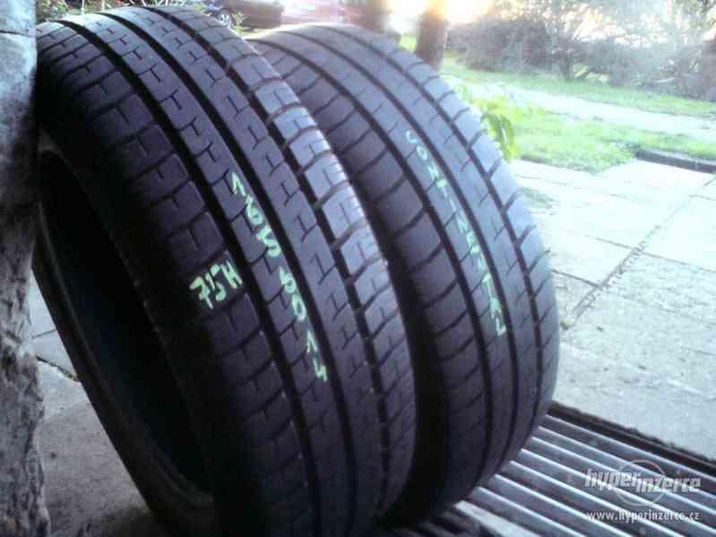 Letní pneu 2kusy 165/60/14 vzorek 85% Continental