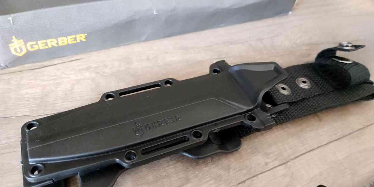 Gerber StrongArm černý kombinované ostří - foto 4