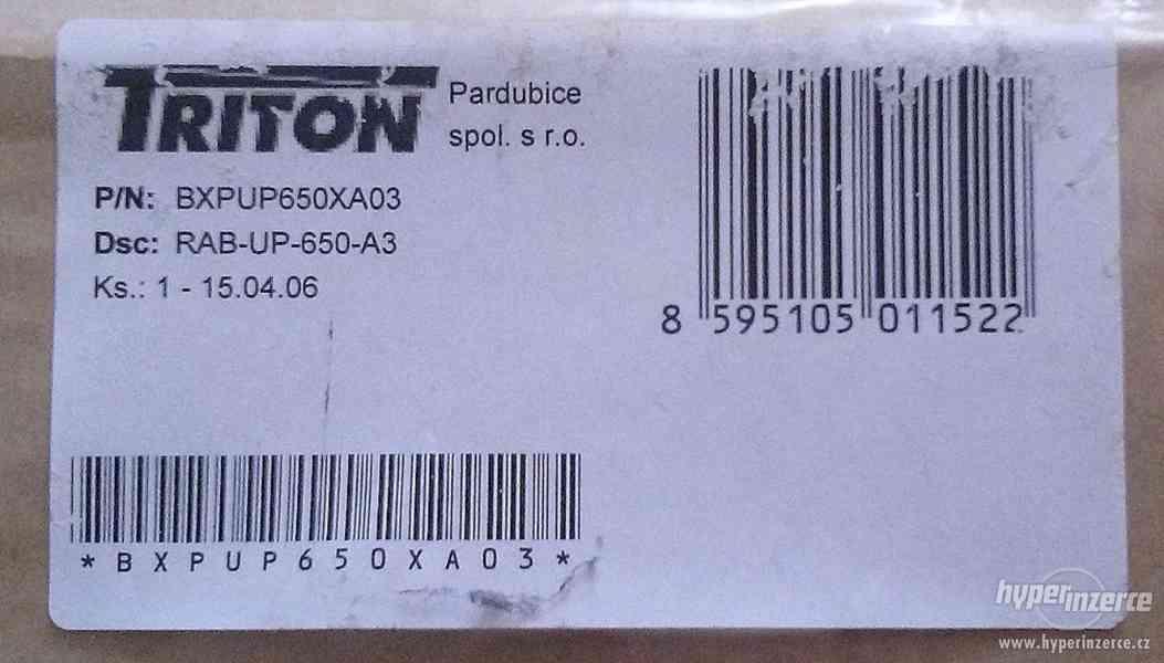 TRITON Polička s perforací 1U/650mm