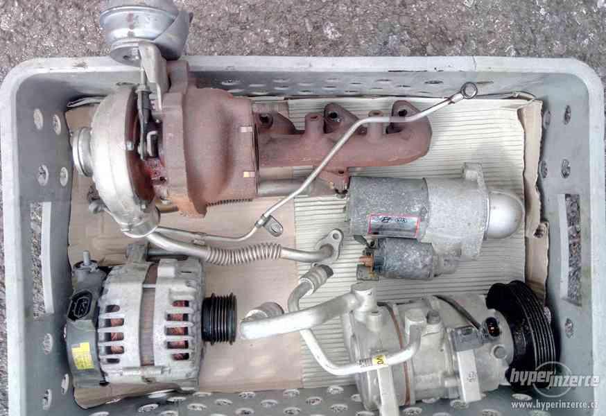 Turbo, klimakompresor, starter Kia Hyundai 1.7crdi