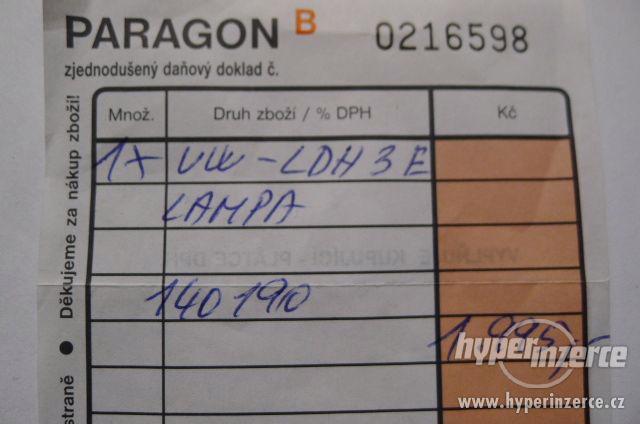 Přídavná Lampa Panasonic - Video DC Light VW-LDH3 . - foto 7