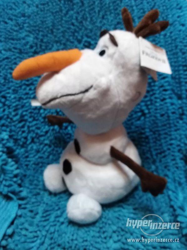 plyšový Olaf Frozen II svítící nos - foto 2