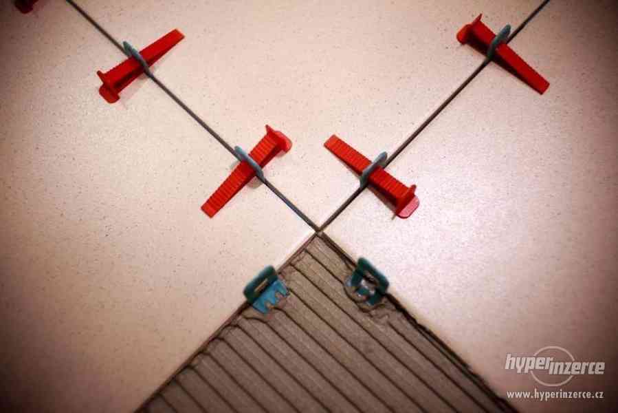 Nivelační systém, dlažby a obklady - foto 2