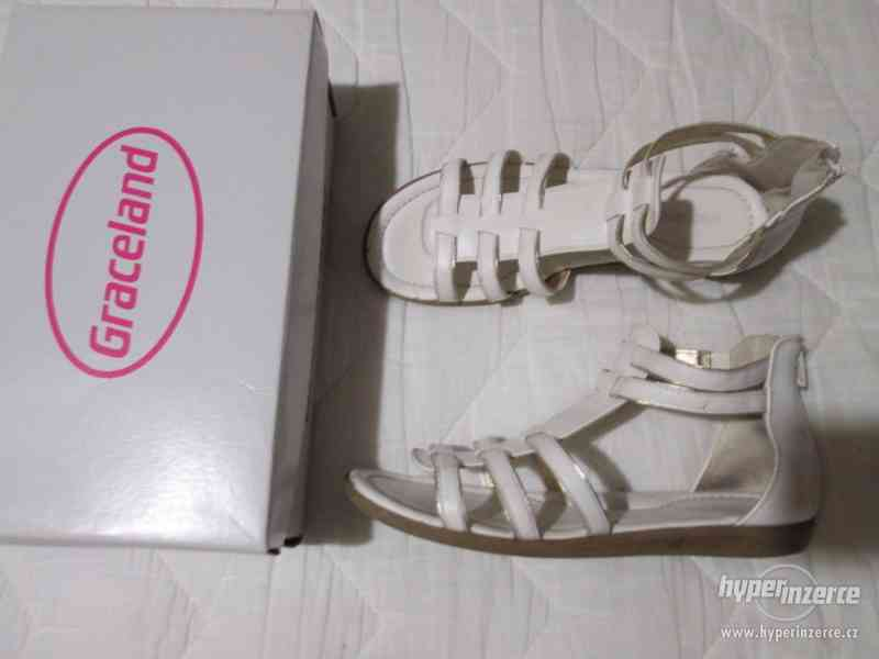Dívčí sandály zn. Graceland, vel. 36 (227 mm) - foto 4