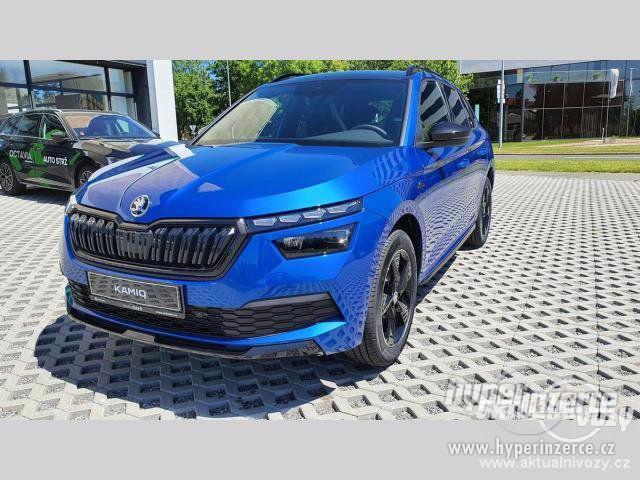 Nový vůz Škoda Kamiq Monte Carlo 1 5TSI 110kW DSG 1.5, benzín, automat, RV 2020 - foto 1