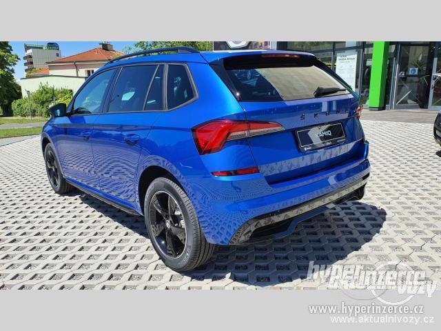 Nový vůz Škoda Kamiq Monte Carlo 1 5TSI 110kW DSG 1.5, benzín, automat, RV 2020 - foto 5