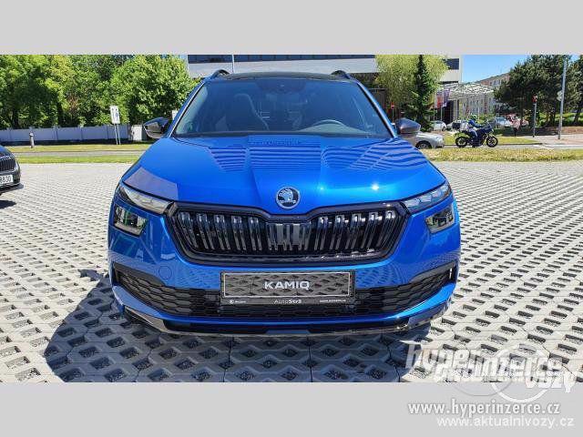 Nový vůz Škoda Kamiq Monte Carlo 1 5TSI 110kW DSG 1.5, benzín, automat, RV 2020 - foto 6