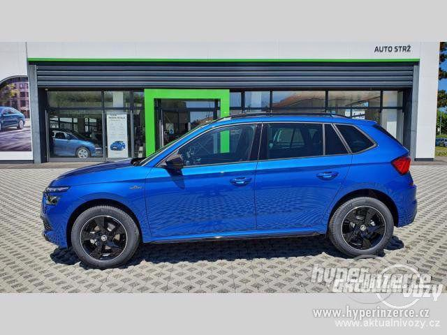 Nový vůz Škoda Kamiq Monte Carlo 1 5TSI 110kW DSG 1.5, benzín, automat, RV 2020 - foto 7