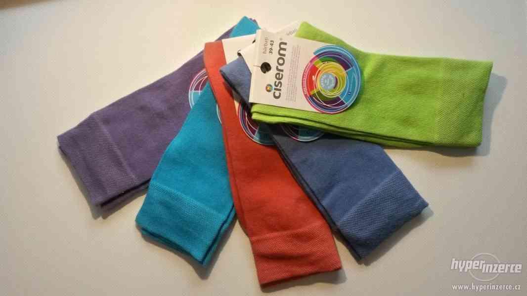 Pánské ponožky 5ks - klasické - NOVÉ