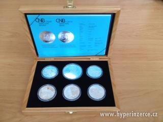 Sada stříbrných mincí, rok 2012 PROOF