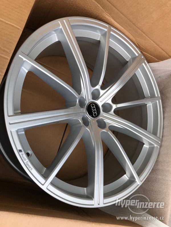 """AUDI RS Q8 alu 23"""" letní sada nová, originál !! - foto 5"""
