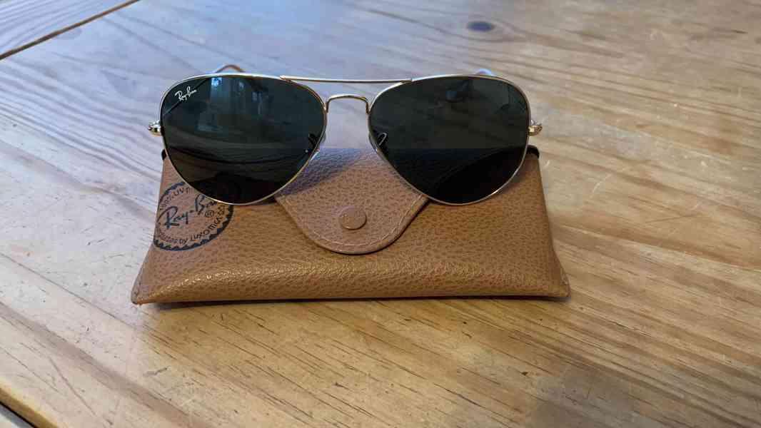 Originální sluneční brýle RayBan Aviator