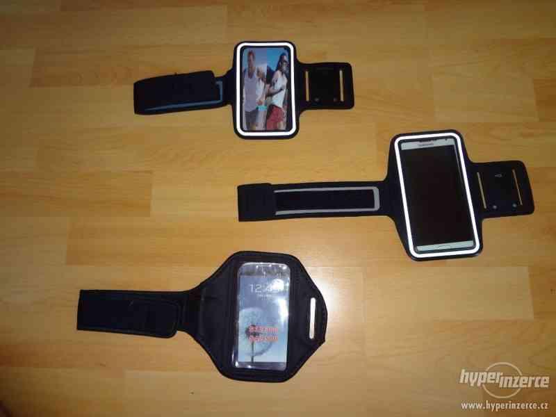 Sportovní pouzdro na ruku pro mobilní telefon, i barevne - foto 2