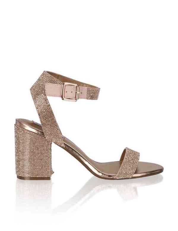 Svatební sandálky na podpatku  - foto 3