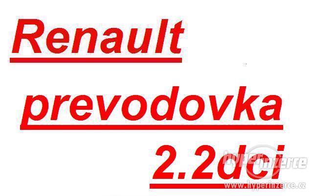 Renault prevodovka Trafic 2.2dci prevodovka trafic PK6 PK5 p