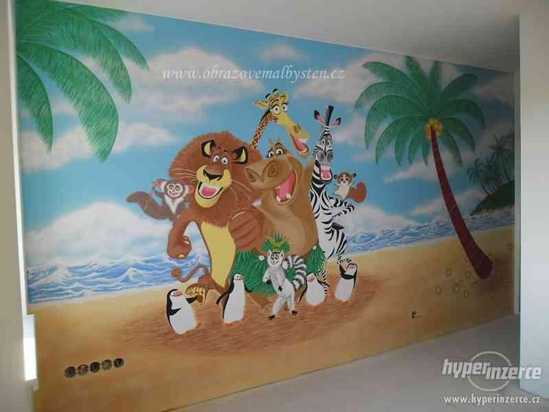 Malování dětských pokojíčků