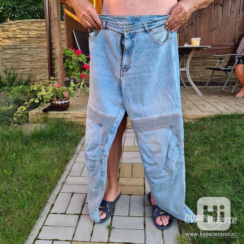 Motorkářské džínové kalhoty - spool - foto 1