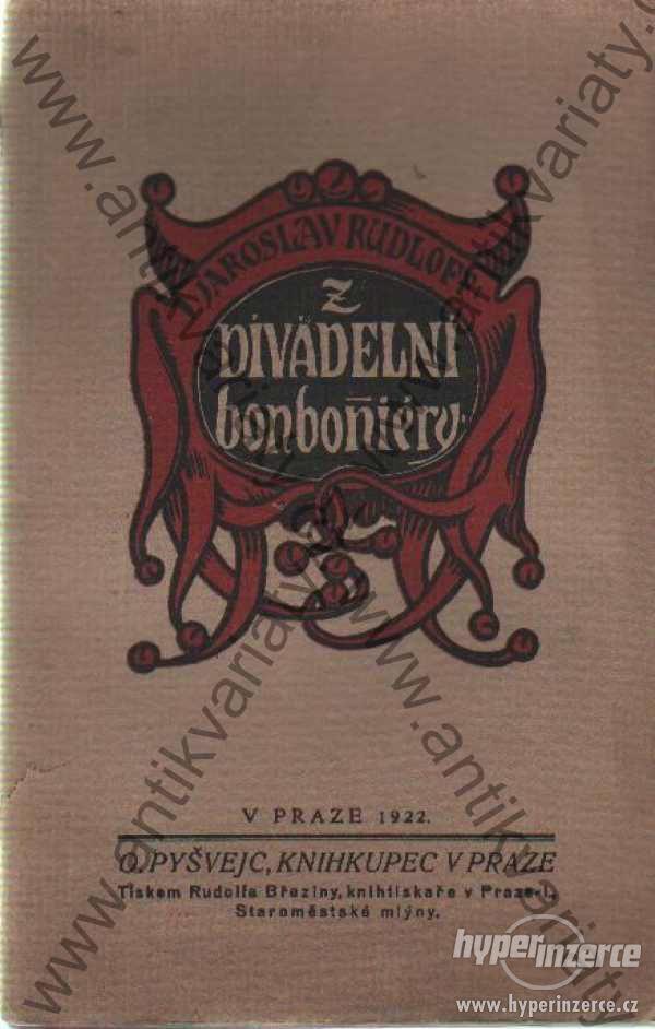 Z divadelní bonboniéry ilustrace: L. Novák 1922