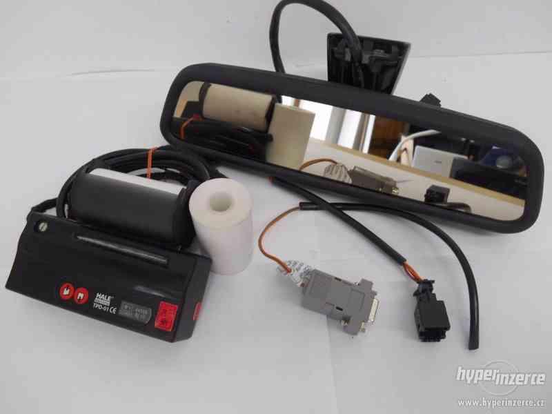 Zrcátkový taxametr Hale s termotiskárnou - foto 3