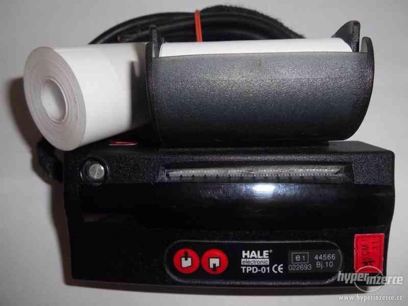 Zrcátkový taxametr Hale s termotiskárnou - foto 4