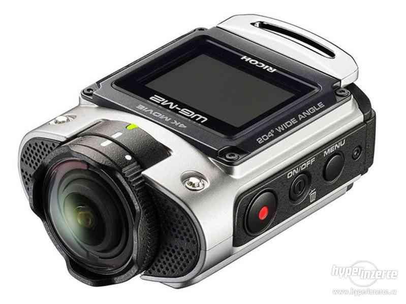 4K Akční kamera Pentax Ricoh WG-M2 NOVÁ / ZÁRUKA 7̶9̶9̶9̶,