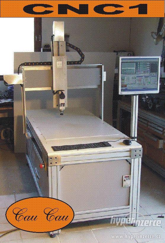 Profesionálna 3D - CNC fréza F1100 - gul. skr