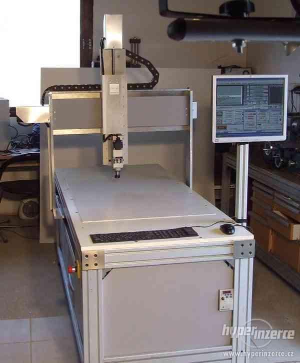 Profesionálna 3D - CNC fréza F1100 - gul. skr - foto 2